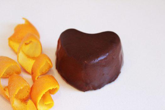 chocolate y naranja