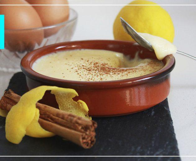 crema catalana casera facil y rapida
