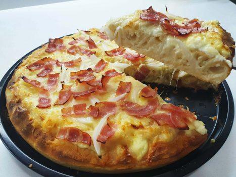 PIZZA SIN GLUTEN Y SIN HUEVO